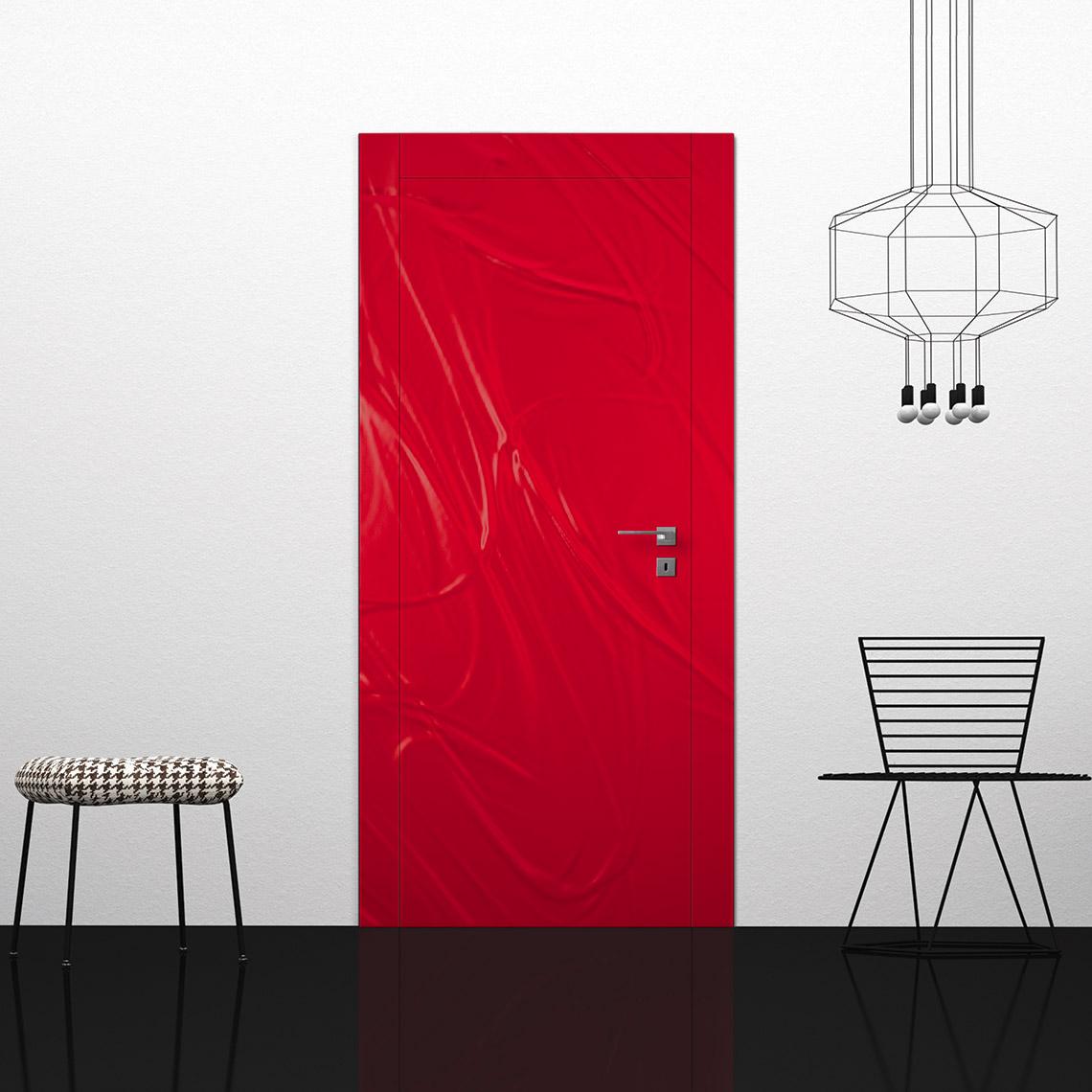 Porta 3D red • Porte interne Condoleo