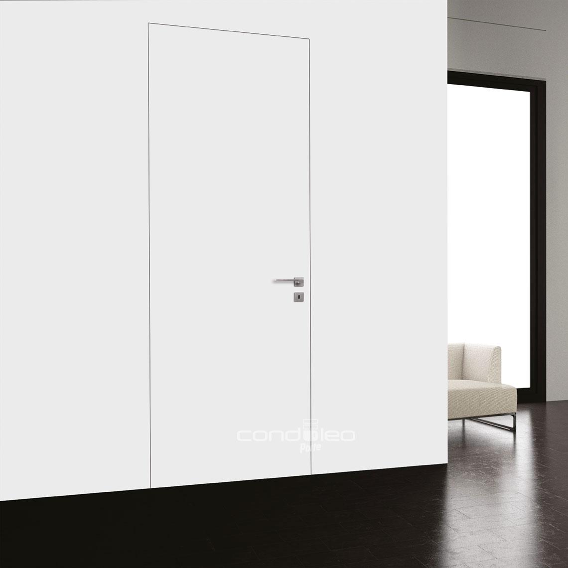 Porte Filo Muro Specchio porta filo muro mod. liscio • porte interne condoleo