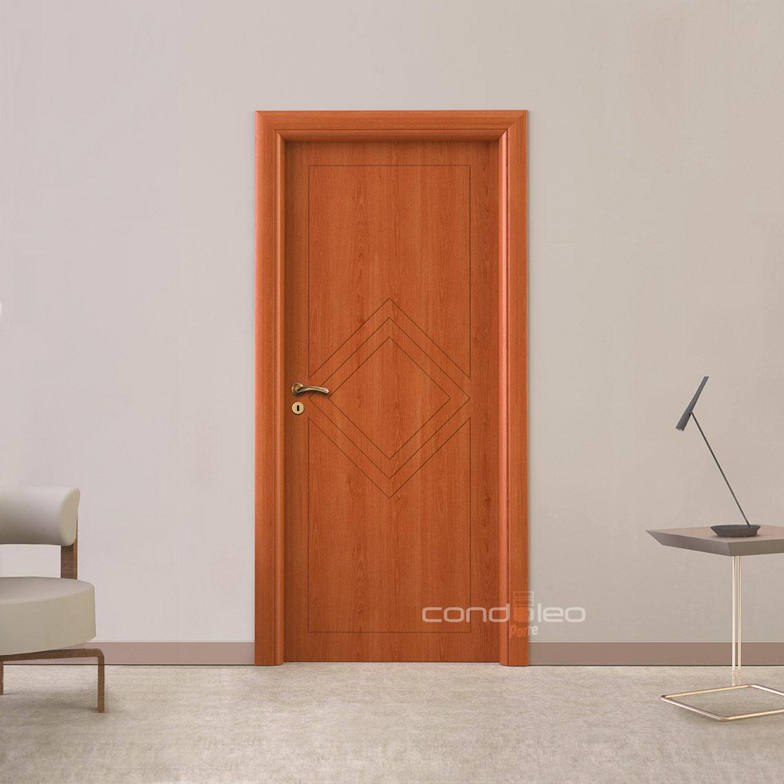 Porte ciliegio incise Mod. L016