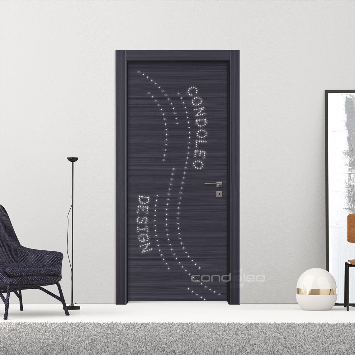 Collezione laminato porte interne condoleo - Verniciare porte interne laminato ...
